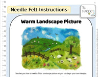 Warm Landscape Picture Instructions PDF