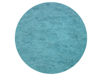 Water Blue - dyed Australian Merino carded wool batts - various weights