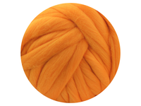 Yellow Dyed South American Merino Tops - various weights