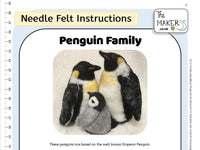 Penguin Family Instructions PDF