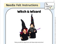 Witch & Wizard Instructions PDF