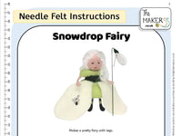 Snowdrop Fairy Instructions PDF