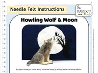 Howling Wolf & Moon Instructions PDF