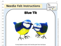 Blue Tit Instructions PDF