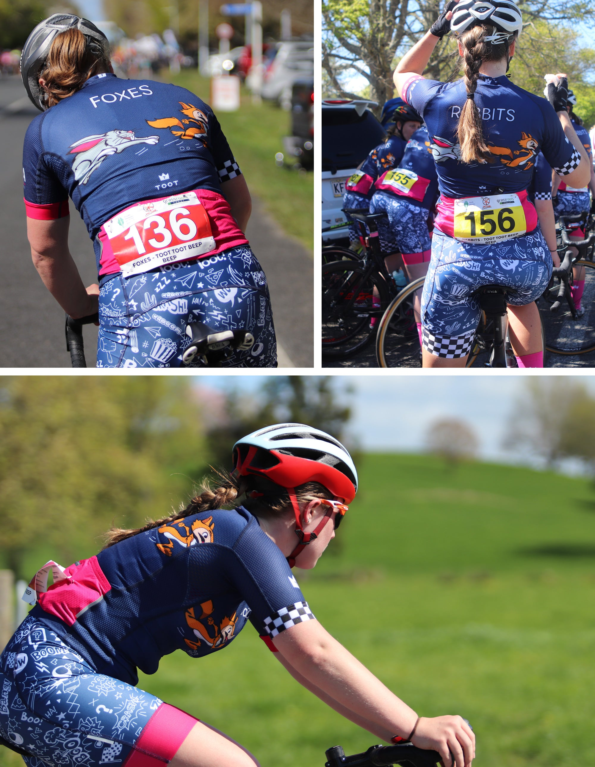 Toot Womens Dynamo Team Kit