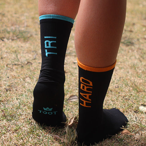 Custom Triathlon Socks for Tri Club