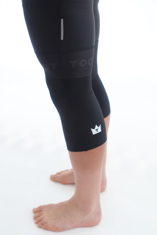 TOOT - Black Unisex Kneewarmers