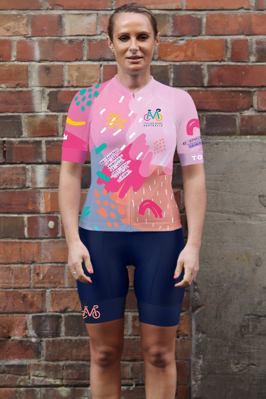 Cycling Mums Australia  - Womens Cycling Jersey