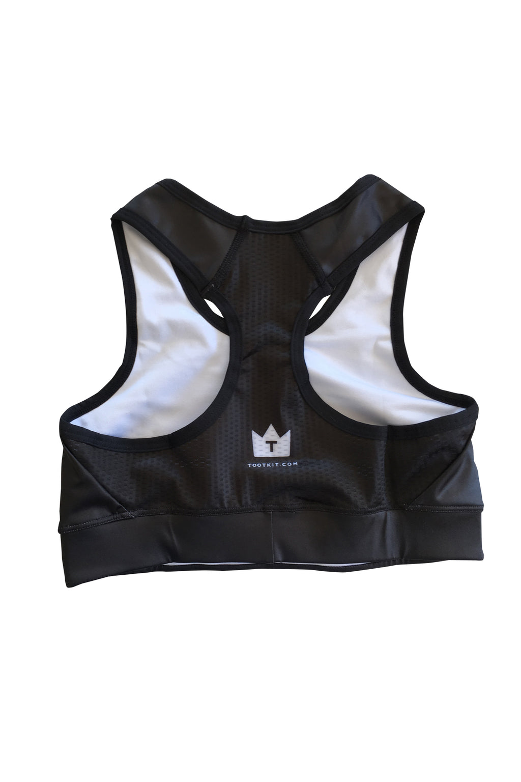 TOOT - SPORTS BRA - Black/White