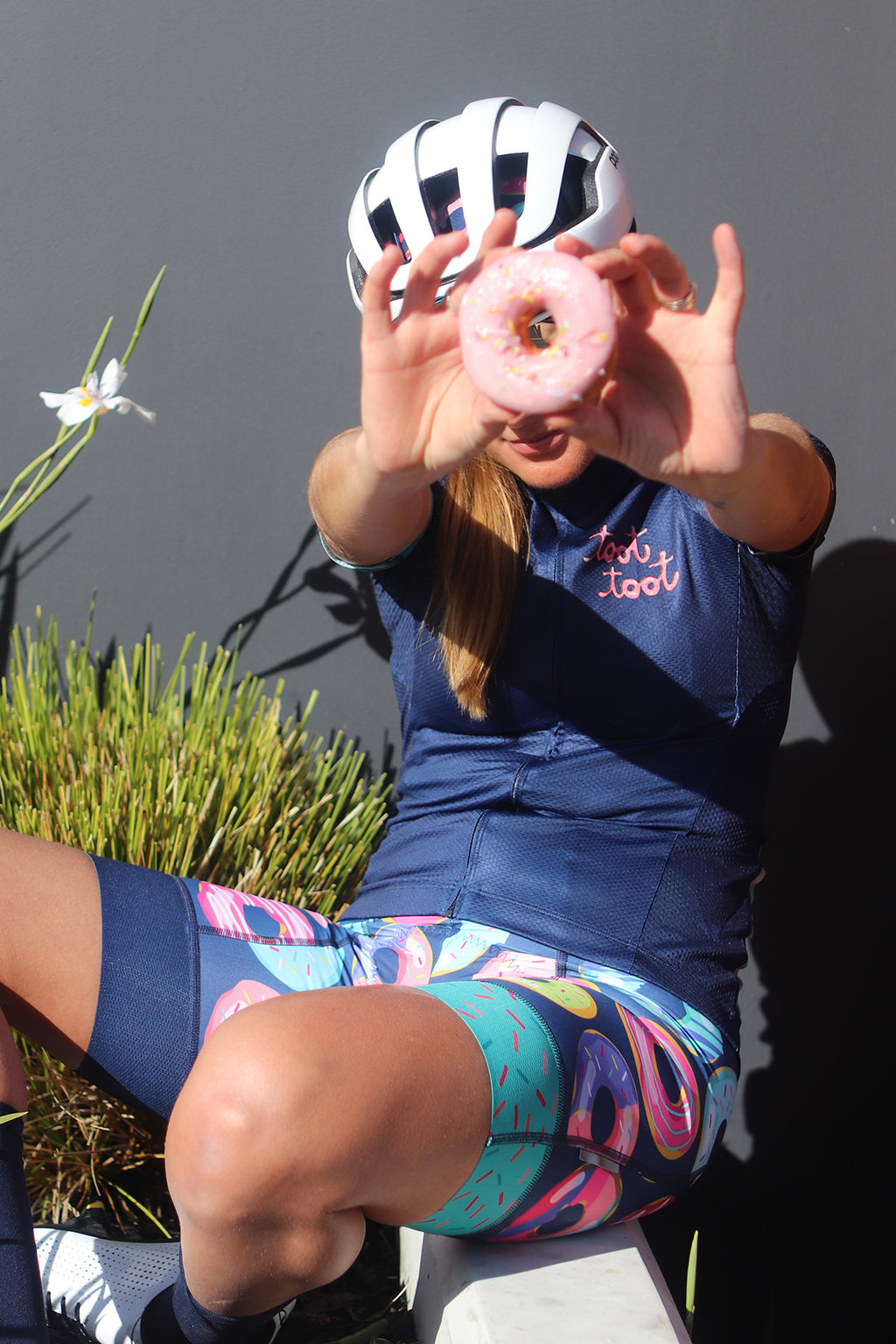Will ride for donuts Cycling Kit