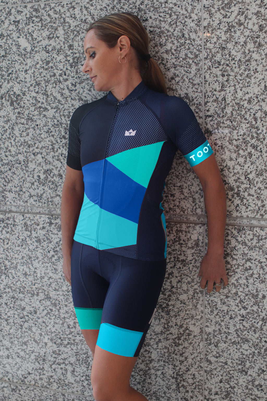 GEO - Limited Edition Womens ProX2 Jersey - Blue/Mint/Teal