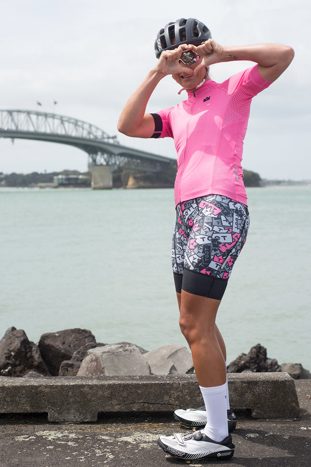 TOOT - WOMENS PRO X LITTLE PINK JERSEY