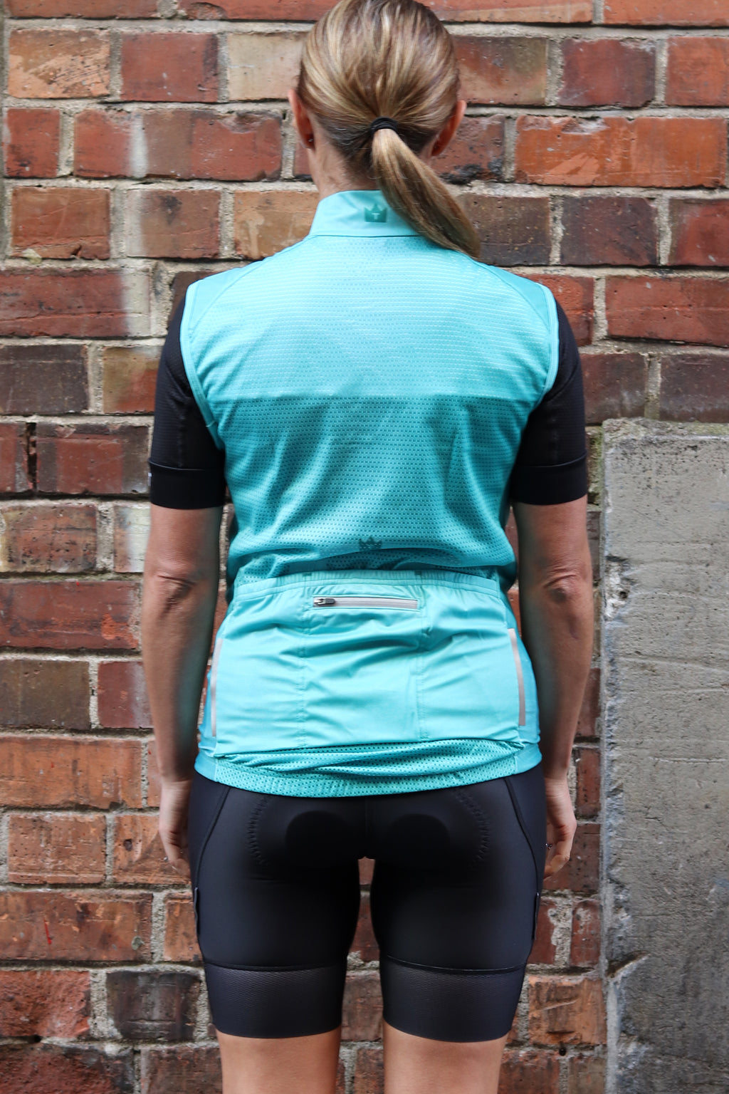 TANGY TEAL - Gilet/Windvest