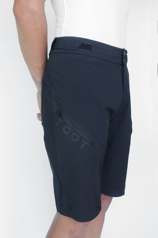 MTB SHORTS - STEALTH BLACK