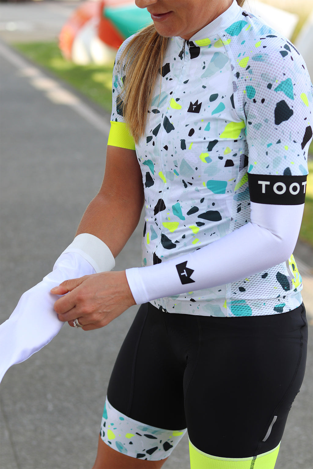 TERRAZZO - LIMITED EDITION WOMENS RE-CYCLE BIBS