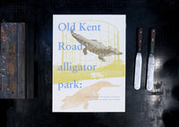 Old Kent Road Alligator Park Print - By Chris Ratcliffe