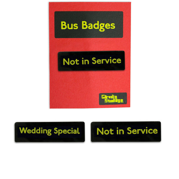 Bus Badges 3