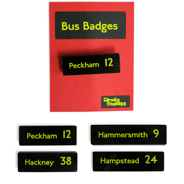 Bus Badges 1