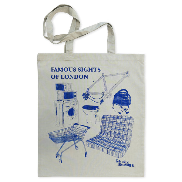Famous Sights of London Tote Bag