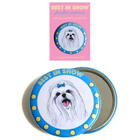 Best In Show Mirror - Maltese