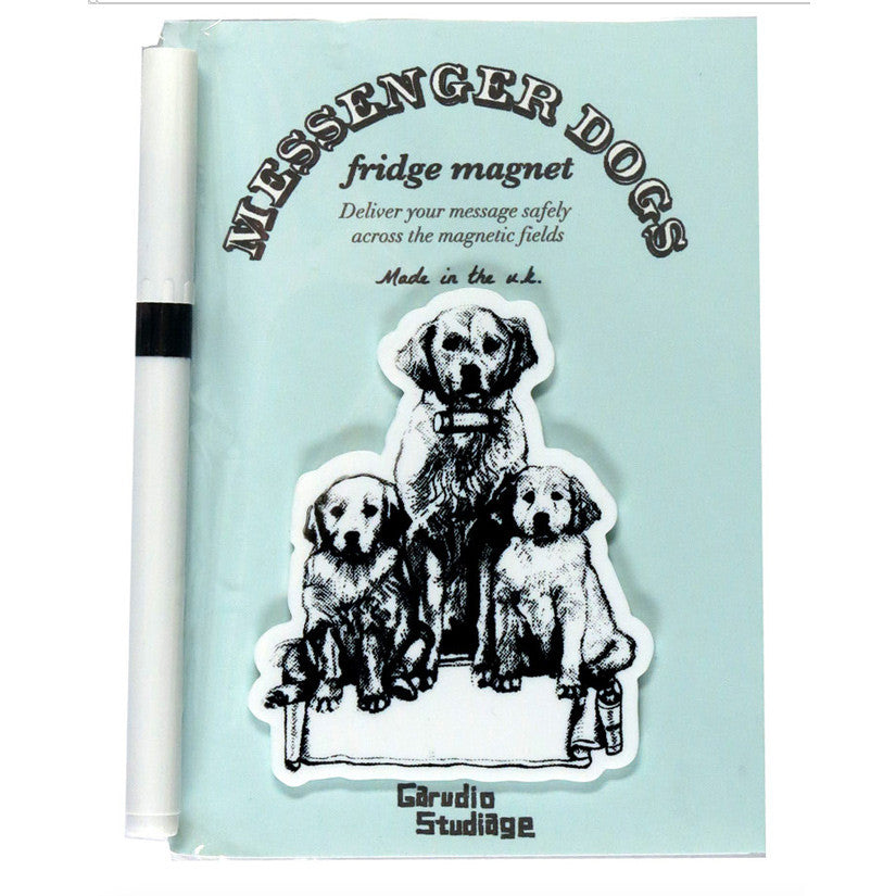 Golden Retriever Family Fridge Magnet