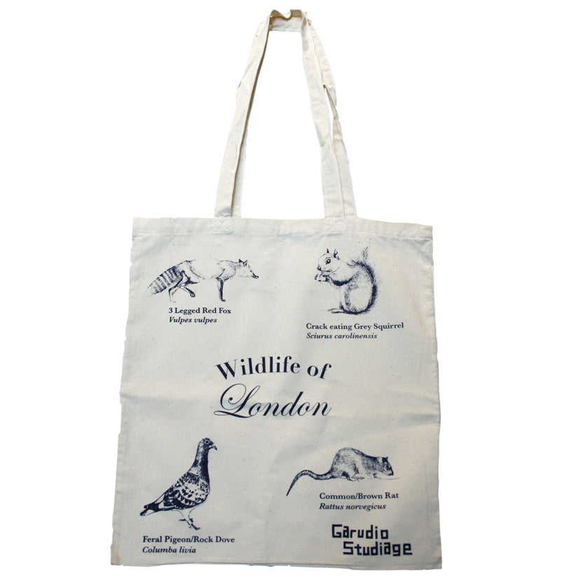Wildlife of London Tote Bag - Natural