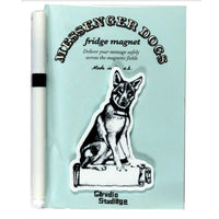 Saarloos Wolfdog Fridge Magnet