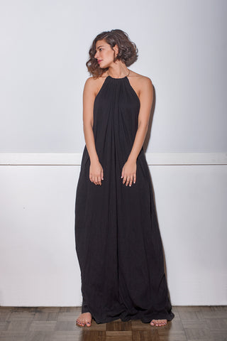 MELINA maxi long dress plain