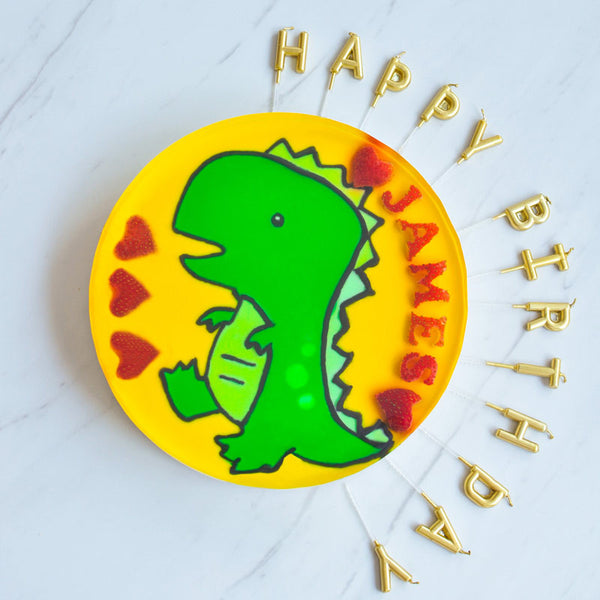 Hand-Drawn T.Rex with Customised Wordings (9inch)