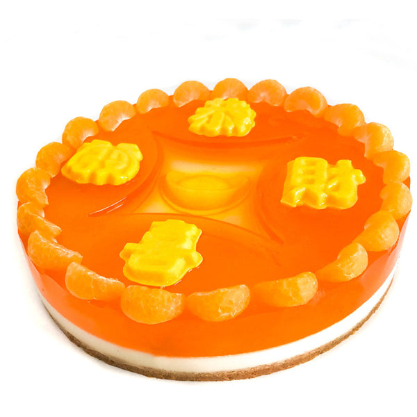 CNY Lucky Coin Jelly Cheesecake