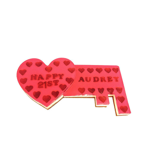 21st Love Key - 18