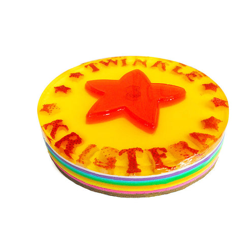 3D Star Multi Layer Rainbow - 9