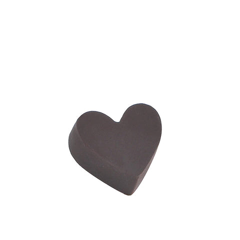 Small Heart Chocolate Brown - (incl GST)
