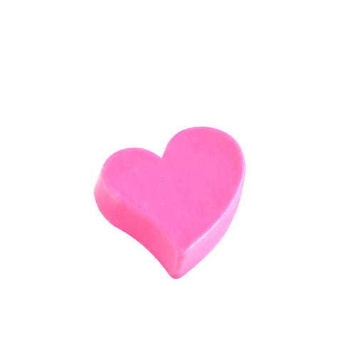 Wavy Heart Chocolate Small - (incl GST)