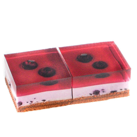 Heavenly Blueberry - 2 Pcs Square (incl GST)