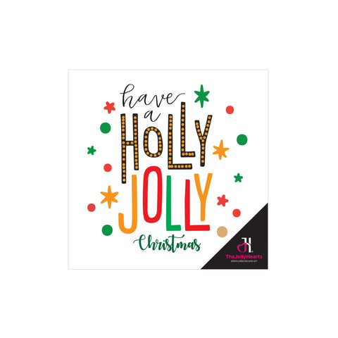 Personalised Gift Card - Christmas