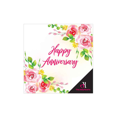 Customised Gift Card - Happy Anniversary