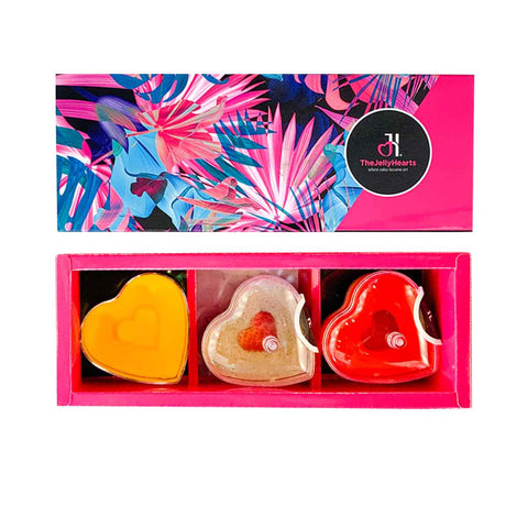Mini Heart Gift Box 3 - Flora Sleeve