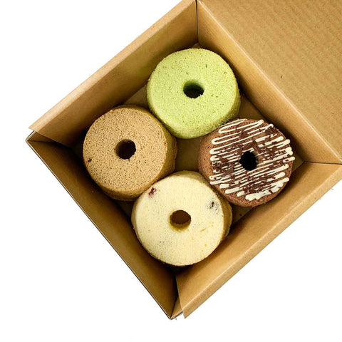 Chiffon Cake  -  Box of 4