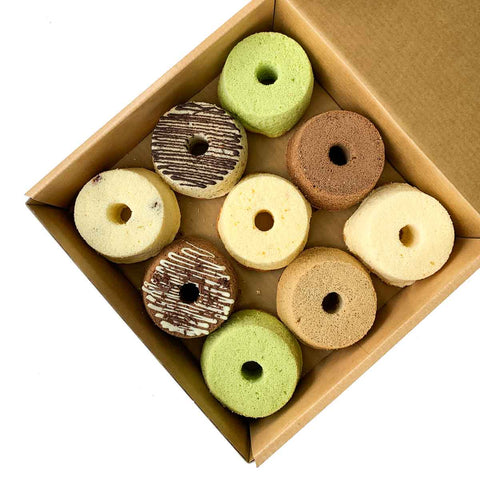 Chiffon Cake  -  Box of 9
