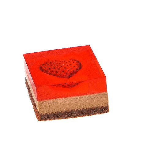 Alluring Chocolate - 1 Piece Square