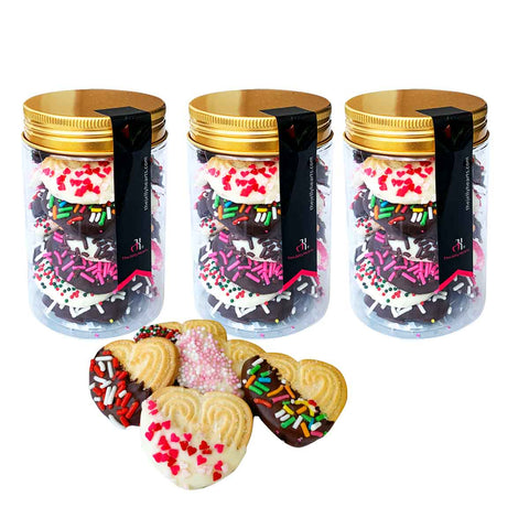 Chocolate Hearts  - 3 bottles (Save $1.80)