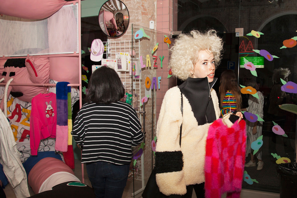 LAZY OAF POP UP WINTER COLLECTION x MISS KLECKLEY STORE