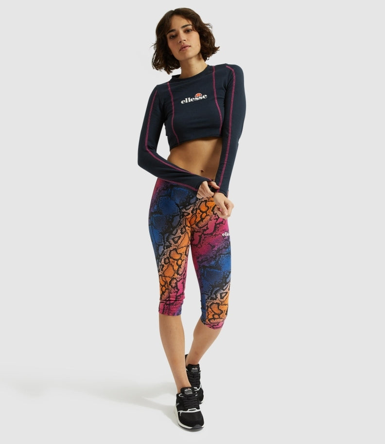 MASSIMA CAPRI PANTS ALL OVER PRINT