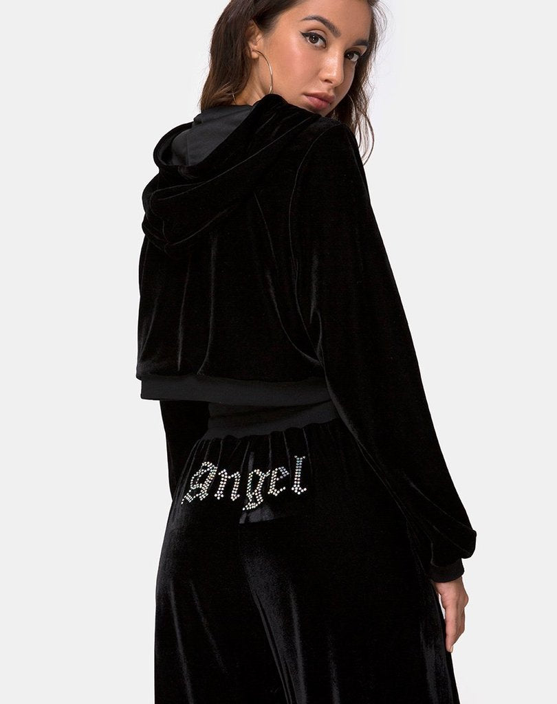 ANGEL BOMB HOODY SWEATER