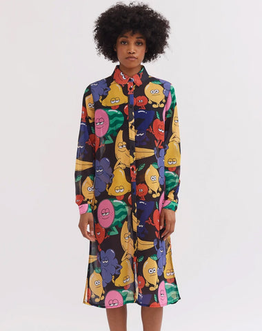 LAZY OAF LUCKY 7 SHIRT DRESS