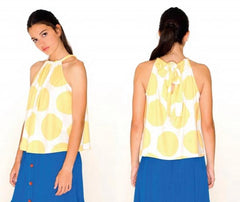 DOTS HALTER TOP