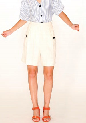 SAFARI SHORTS IVORY