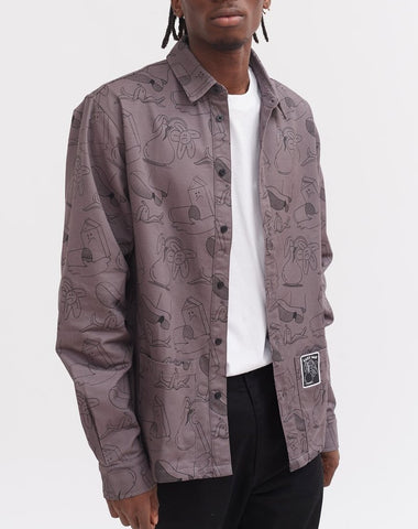 MISSING DOG QUILT JACKET