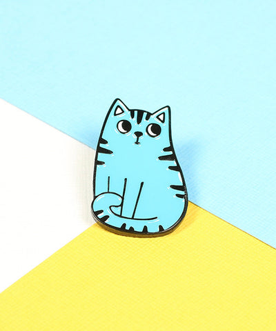 BLUE CAT PIN